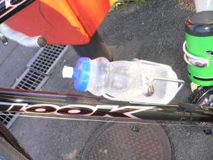 凍るボトル。見えるかなぁ??