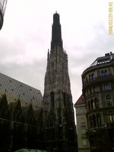 ウィーンの中心ですぅ